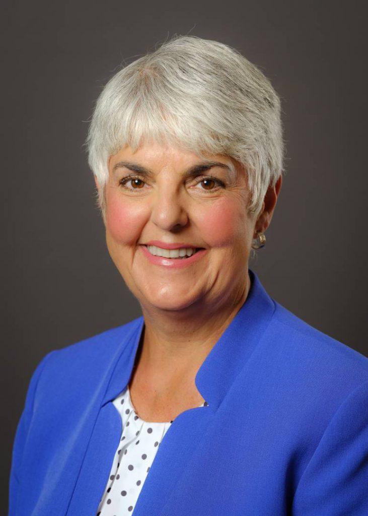 Hon. Minister Carole James, B.C. Finance Minister.