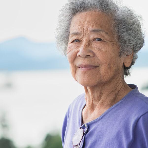 A Vancouver, B.C. senior.